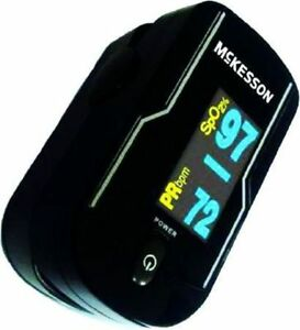 Finger Pulse Oximeter Mckesson Battery Operated Multi angle Display Modes