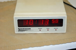 Spectracom Netclock 2 Wwvb Synchronized Master Clock Option 6