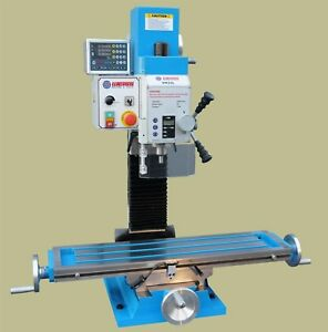 Weiss Vm 32l Bench Top Milling Machine W Preinstalled 3 Axis Magnetic Scale Dro