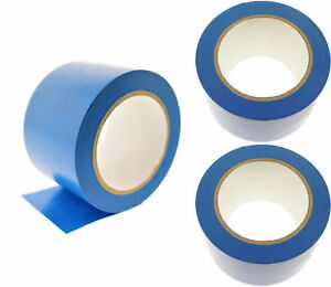 3x 3 Blue Pvc Rubber Vinyl Tape Electrical Sealing Floor Osha Safety Marking