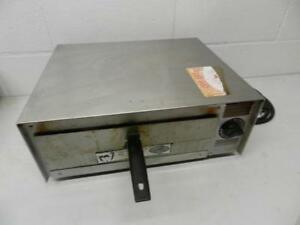 Pizza Pal Wisco Electric Oven Good Condition Stainless Model 412 5nct Countertop