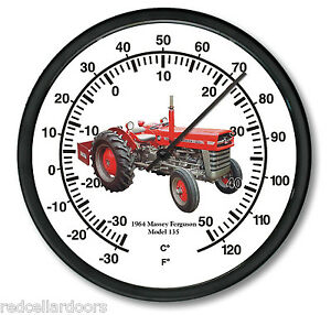 New Massey Ferguson 14 Massive Round Thermometer Model 135 Tractor On Air
