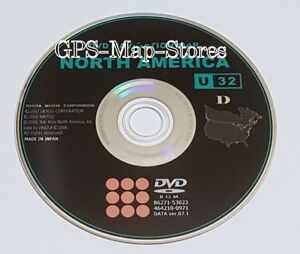 2006 2007 2008 2009 Toyota Prius 4runner Sienna Navigation Dvd U s Map Updateu32