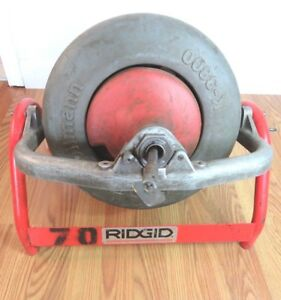 Ridgid K 3800 Drum Machine Kit 3 4 4 Sewer Drain Line Snake Machine