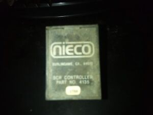 Nieco 4135 Scr Controller can Type 120 Volt Nc4135 Nie4135