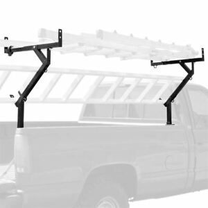 3 Ladder Pickup Truck Lumber Side Mount Rack 250lb