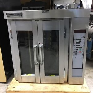 Hobart Baxter Ho300e Mini Electric Rotating Rack Steam Injected Convection Oven