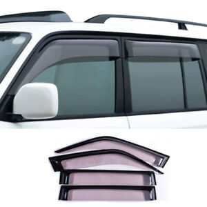 Window Visor Rain Sun Guard Vent Cover For Toyota Prado 3400 Fj90 Lc900 2003 11