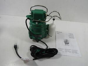 Hydromatic Mc1050 20 Sump Pump 1 3 And 1 2 For Hp Submersible Cast Iron
