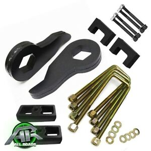 Complete 3 F 1 5 R Lift Level Kit Shock Extenders 95 99 Chevy Tahoe 4wd