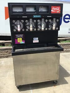 Taylor 349 33 Carbonated 4 Flavor Frozen Icee Slushie Drink Machine 3 Phase 3