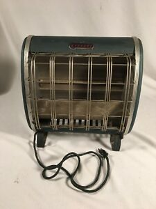 Vintage Streamline Art Deco Everhot Ray Vector Portable Electric Heater