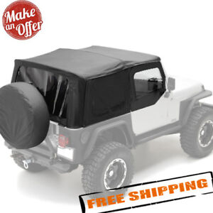 Smittybilt 9970235 Replacement Soft Top For 1997 2006 Jeep Wrangler Tj New
