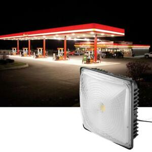 50w Led Square Ceiling Light Lamp Galley Garage Bay Light Hall Lobby Waterproof
