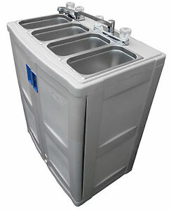 Portable Sink With Hot Water Freestanding Catering Sink Portable Washer