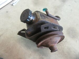 1975 1977 Pontiac Ventura Steering Gear Box Power Steering Pump Hot Rod Parts