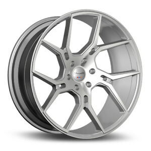 22 Gianelle Dilijan Silver Concave Wheels Rims Fits Bmw F16 X6