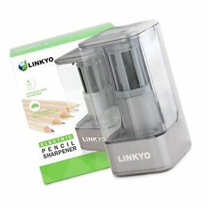 Linkyo Electric Pencil Sharpener With Automatic Smart Sensor For Kids And Hom