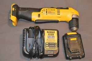 Dewalt Dcd740 Right Angle 3 8 Drill Impact With Battery And Charger