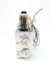 Federal Pacific Vsdd 3 Voltage Relay 230v ac