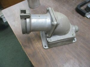 Crouse hinds Arktite Receptacle W Base Angle Adapter Ar1042 M72 100a 3w 4p