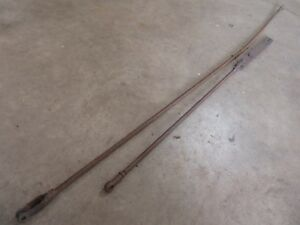 1955 1960 Chevrolet 6100 Truck Parking Brake Linkage Rods Parts Hot Rod