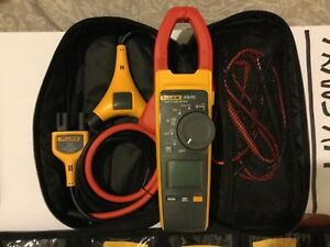 Fluke 376 Fc True rms Ac dc Clamp Meter With Iflex i400 master Probe Set