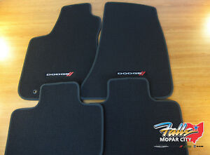 2016 2018 Dodge Charger Rwd Black Carpet Floor Mats Front Rear Mopar Oem