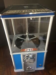 Northern Beaver Sky Blue Vending Machine 2 Capsule 1 One Dollar Coin Mech 20