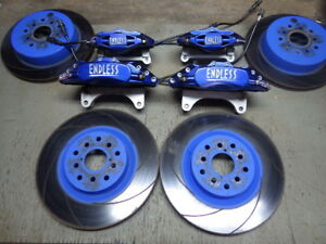 Endless Front Rear Brake Calipers Rotors Pads Kit For Toyota 86 Frs Subaru Brz