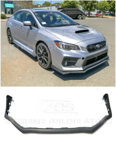 Eos For 15 up Subaru Wrx Sti Jdm V limited Style Front Bumper Lip Splitter