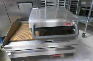 Lang Selectronic 36 Natural Gas Griddle 236s W Gas Infrared Clamshell Hood