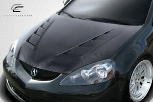 Carbon Creations Dritech Ts 2 Hood 1 Piece For 2002 2006 Acura Rsx