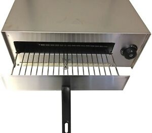 Commercial Pizza Oven Electric Toaster Snack Grill 12 Inch Stainless Steel