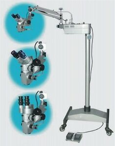 Surgical Operating Microscope With Beam Splitter Dental Best Quality Ship