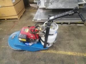 Walk Behind Eagle Propane Floor Burnisher Polisher Buffer 13hp 22