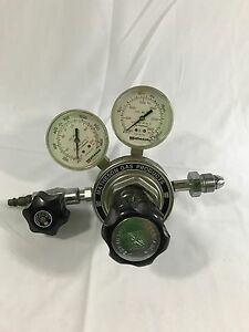 Matheson Gas Products Model 3104c Gas Pressure Dual Gauge Stainl