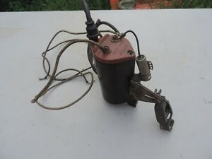 Vintage Mallory 6 V Ignition Coil Model Dsm Old Speed Equipment Hot Rod