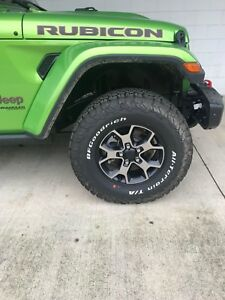 2018 Jeep Wrangler Rubicon jl Wheel And Tire Set Of 5