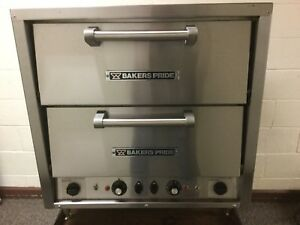 Bakers Pride Dp 2 Countertop 2 Compartment Electric Stone Oven Pizza Cookies