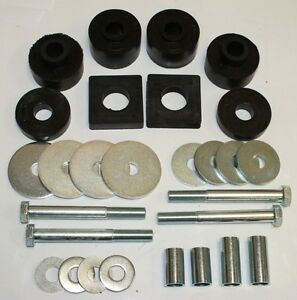 1961 1962 1963 1964 Ford Truck Cab Mount Kit 1 2 Ton 2wd Only With Hardware New