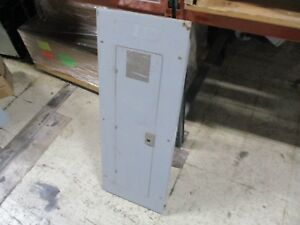 Ge Main Lug Circuit Breaker Panel Tlm40acd 42 slot 1ph Used