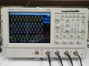 Tektronix Tds5054 500mhz 5gs s Oscilloscope Loaded Options Mz66