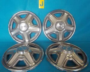 1969 Ford Mustang Wheel Cover Hubcap 14 Used Oem 1 Set 4 Pcs Muscle Pony Car