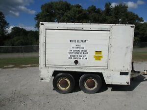 Mobile Electric Powered Air Compressor 96339rp 20hp 230 460v 256t fr Used