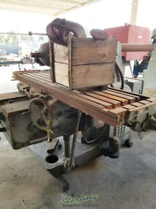 19 1 2 X 88 Used Kearney Trecker Plain Type Horizontal Milling Machine W Un