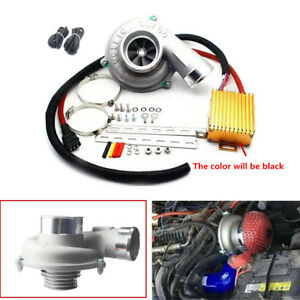 Small Size Electric Turbo Supercharger Kit Reduce Fuel Consumption By 15 20