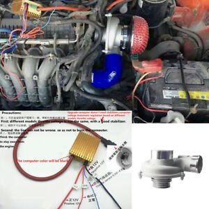 Car Turbocharger Air Filter Intake Kit High Electric Revolutions Rpm