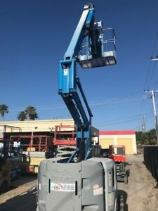 Genie 34 Ft Boom Lift Only 1700 Hours Year 2013 You Tube Video 4x4