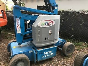 Genie 34ft Boom Lift 2007 40 Ft Working Height